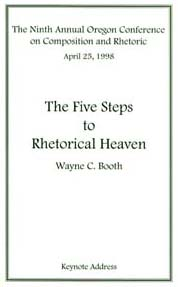 """cover of """"the five steps to rhetorical heaven"""""""