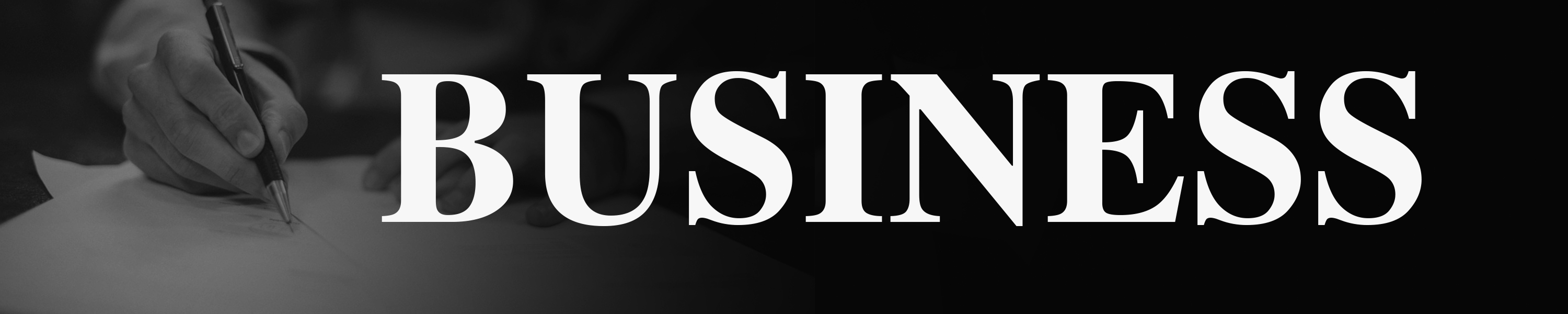 "text image of the word ""business"""