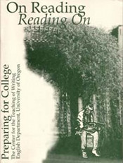 "Cover of ""On Reading"""