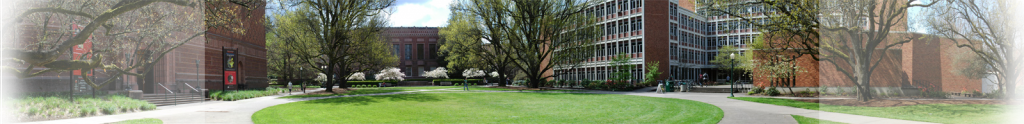 South facing photo of PLC and the quad.