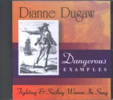 """Book cover for """"Dangerous Examples–Fighting & Sailing Women"""""""