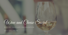 image of wine and cheese event flyer