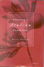 """Book cover for """"Chaucer's Italian Tradition"""""""