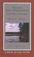 Walden, Civil Disobedience, and Other Writings
