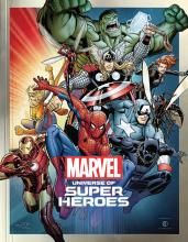 """Book cover for """"Marvel: Universe of Super Heroes"""""""