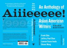 """Book cover for """"Aiiieee Anthology,"""" by Tara Fickle"""