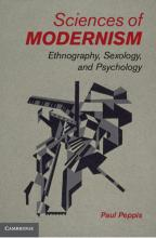 "Book cover for ""Sciences of Modernism"""