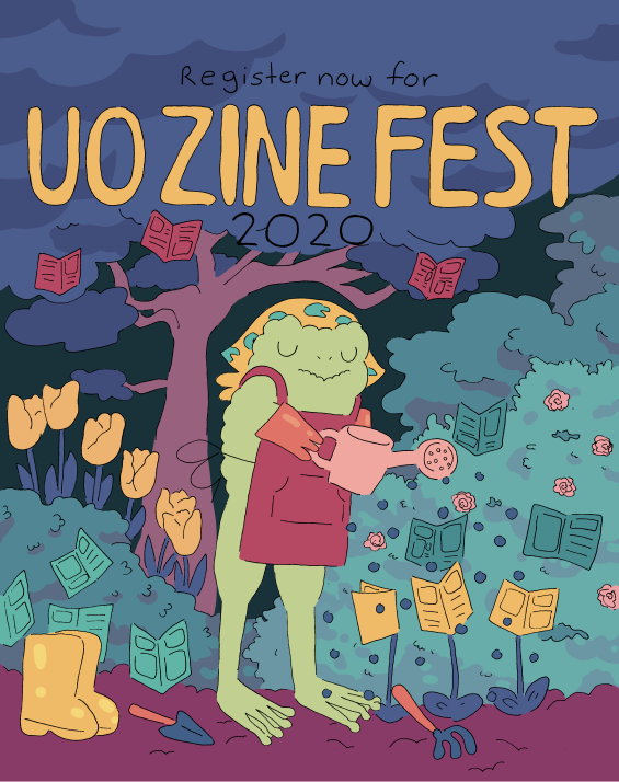 ZineFest 2020, April 16, Noon to 6PM, EMU Crater Lake Rooms